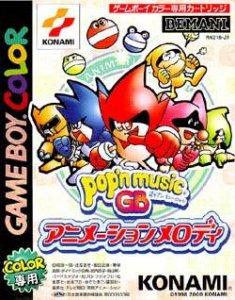 Pop'n Music GB Animation Melody per Game Boy Color