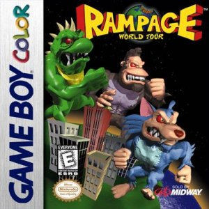 Rampage World Tour per Game Boy Color
