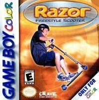Razor Freestyle Scooter per Game Boy Color