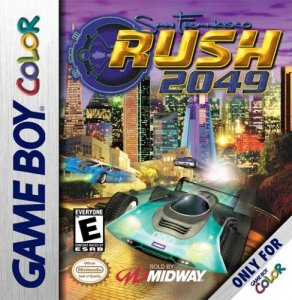 San Francisco Rush 2049 per Game Boy Color