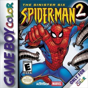 Spider-Man 2: The Sinister Six per Game Boy Color