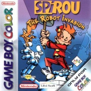 Spirou: The Robot Invasion per Game Boy Color
