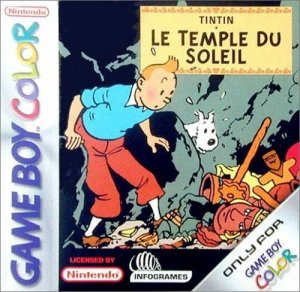 The Adventures of Tintin: Prisoners of the Sun per Game Boy Color