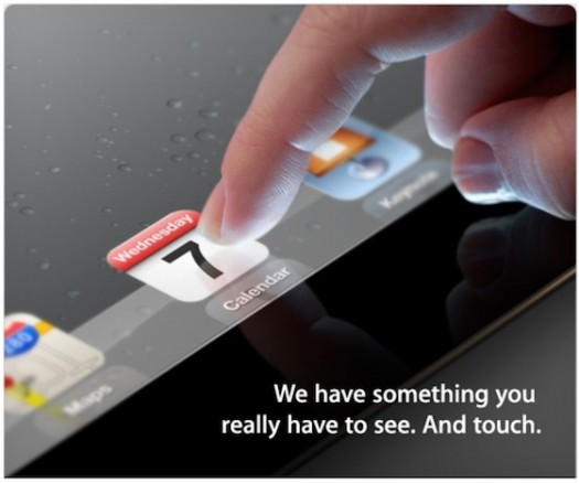 Apple conferma l'evento del 7 marzo: iPad 3 in arrivo
