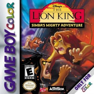 The Lion King: Simba's Mighty Adventure per Game Boy Color