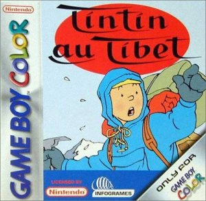 Tintin in Tibet per Game Boy Color