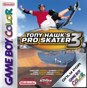 Tony Hawk's Pro Skater 3 per Game Boy Color