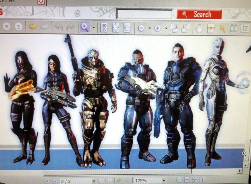 Mass Effect 3 - Spuntano alcuni costumi alternativi