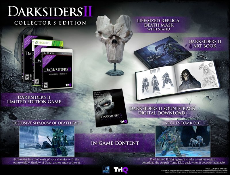 Darksiders II Collector's Edition anche in Europa