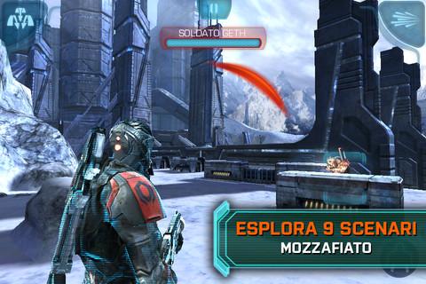 Un corposo aggiornamento per Mass Effect Infiltrator