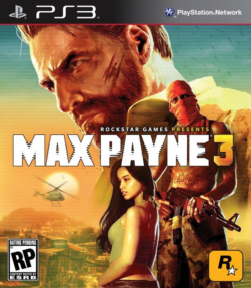 Max Payne 3 - I packshot delle versioni console