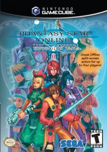 Phantasy Star Online Episode I & II Plus per GameCube