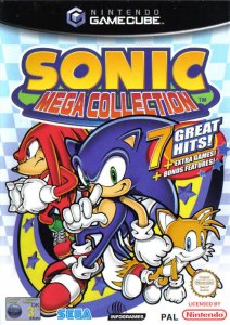 Sonic Mega Collection per GameCube