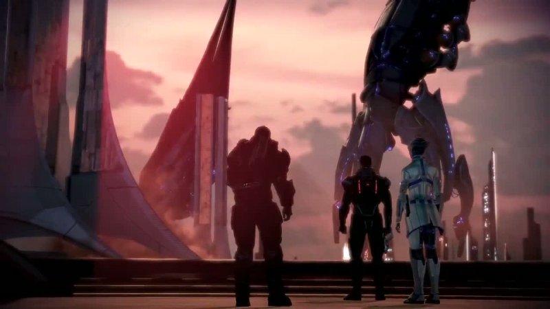 Mass Effect 3, la trama del DLC Omega già presente nel disco del gioco base?