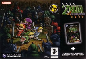 The Legend of Zelda: Four Swords Adventures per GameCube