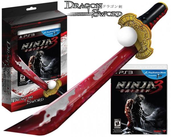 Ninja Gaiden 3 in bundle con la Dragon Sword