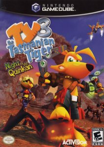 Ty the Tasmanian Tiger 3: Night of the Quinkan per GameCube