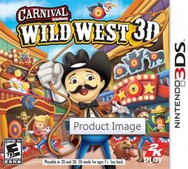 Carnival Games Wild West 3D per Nintendo 3DS