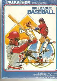Big League Baseball per Intellivision