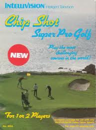 Chip Shot Super Pro Golf per Intellivision