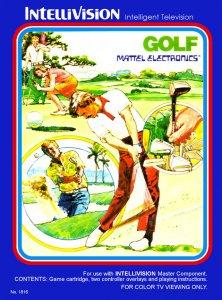 Golf per Intellivision