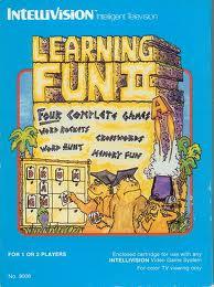 Learning Fun II per Intellivision