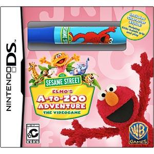 Sesame Street: Elmo's A-to-Zoo Adventure per Nintendo DS