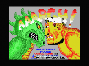 Aaargh! per MSX