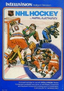 NHL Hockey per Intellivision