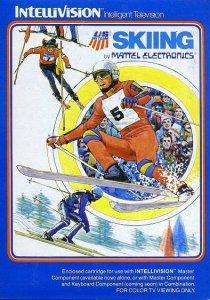 Skiing per Intellivision