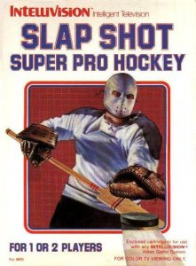 Slap Shot Super Pro Hockey per Intellivision