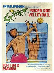 Spiker! Super Pro Volleyball per Intellivision