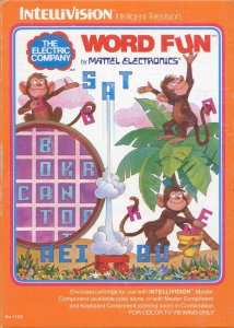 The Electric Company Word Fun per Intellivision