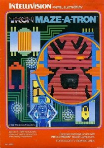 TRON Maze-A-Tron per Intellivision