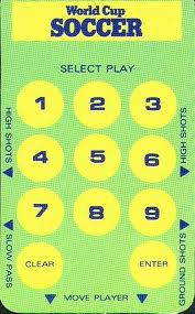 World Cup Soccer per Intellivision