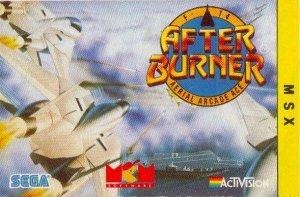 Afterburner per MSX