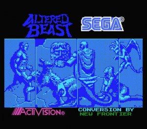 Altered Beast per MSX