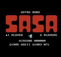 Astro Robo Sasa per MSX