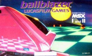 Ballblazer per MSX