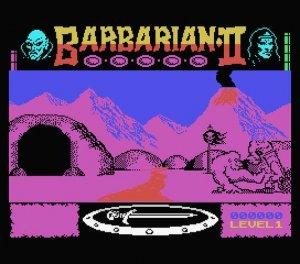 Barbarian 2 per MSX