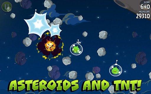 Un malware nella versione pirata di Angry Birds Space