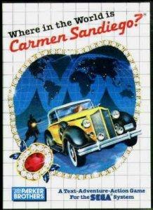 Where in the World is Carmen Sandiego? per Sega Master System