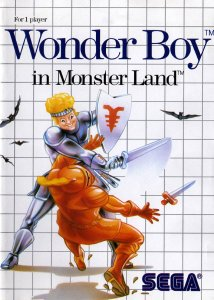 Wonder Boy in Monster Land per Sega Master System