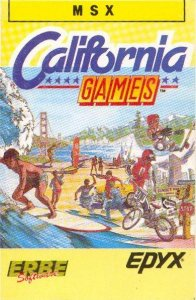 California Games per MSX