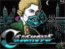 Casanova per MSX