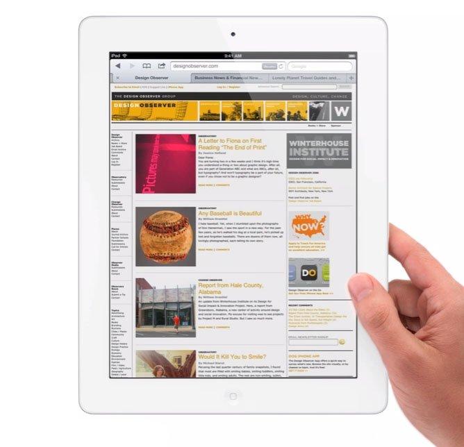 Benvenuto, nuovo iPad