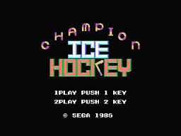 Champion Ice Hockey per MSX