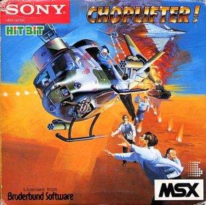 Choplifter! per MSX