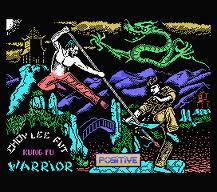 Choy-Lee-Fut Kung-Fu Warrior per MSX