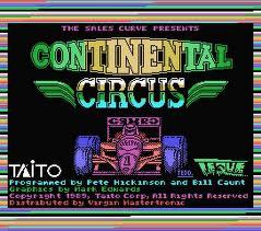 Continental Circus per MSX